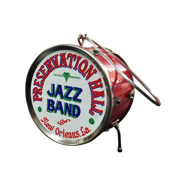 Preservation Hall Jazz Band Drum Ornament