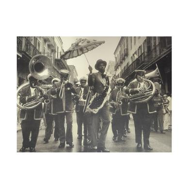 Preservation Hall Jazz Band Olympia Brass Band Greeting Card