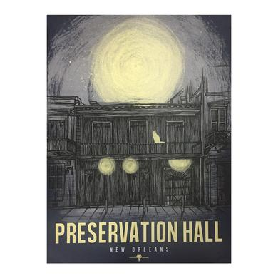 Preservation Hall Jazz Band Blue Poster