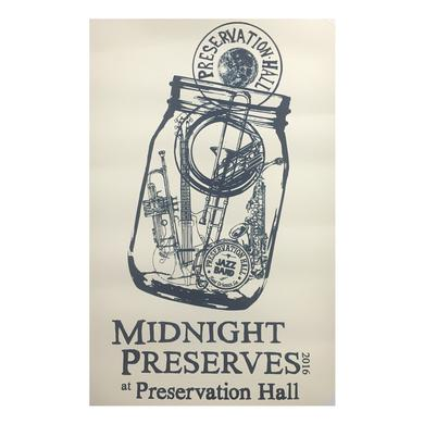 Preservation Hall Jazz Band Midnight Preserves Poster
