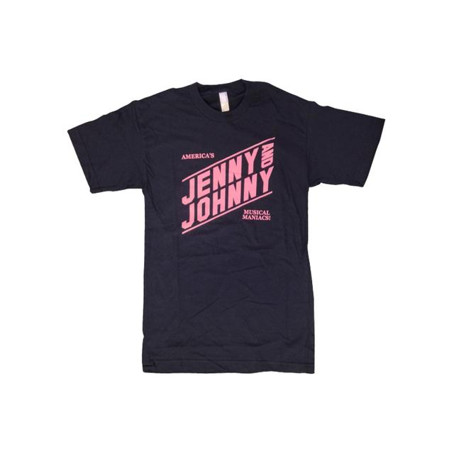 Jenny Lewis Musical Maniacs Unisex Tee (Black w/ Pink)