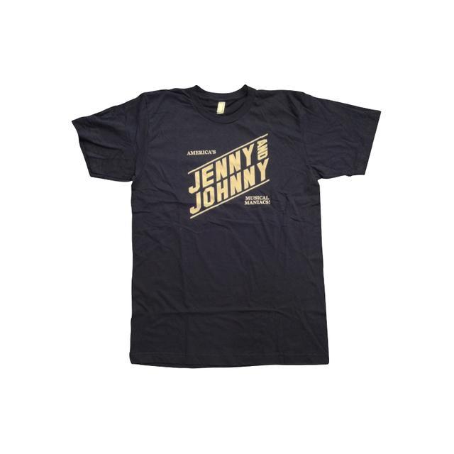 Jenny Lewis Musical Maniacs Unisex Tee (Navy w/ White)