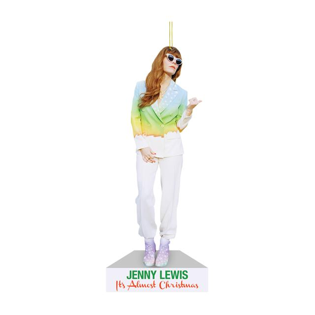 Jenny Lewis It's Almost Christmas Cardboard Ornament