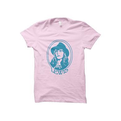 Jenny Lewis Portrait Girls Tee (Pink)