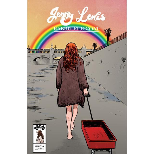"Jenny Lewis ""Rabbit Fur Coat"" Comic Book by Sina Grace"