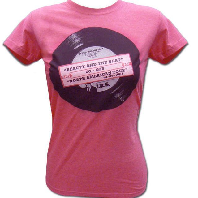 The Go-Go's Vinyl Tee (Pink)
