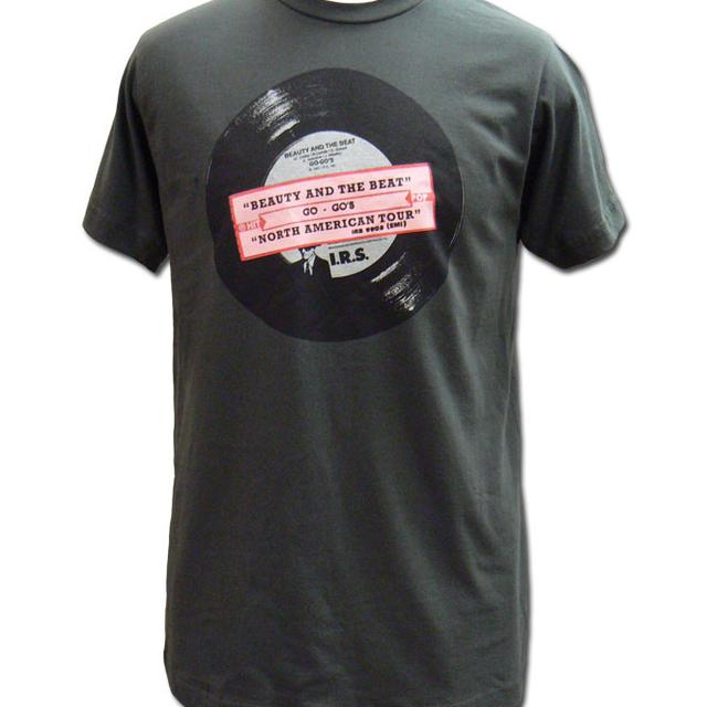 The Go-Go's Vinyl Tee (Grey)