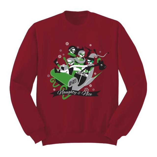 The Go-Go's Sleigh Unisex Crewneck Sweatshirt