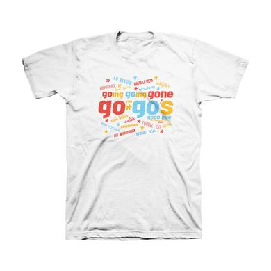 The Go-Go's Goodbyes White Tee