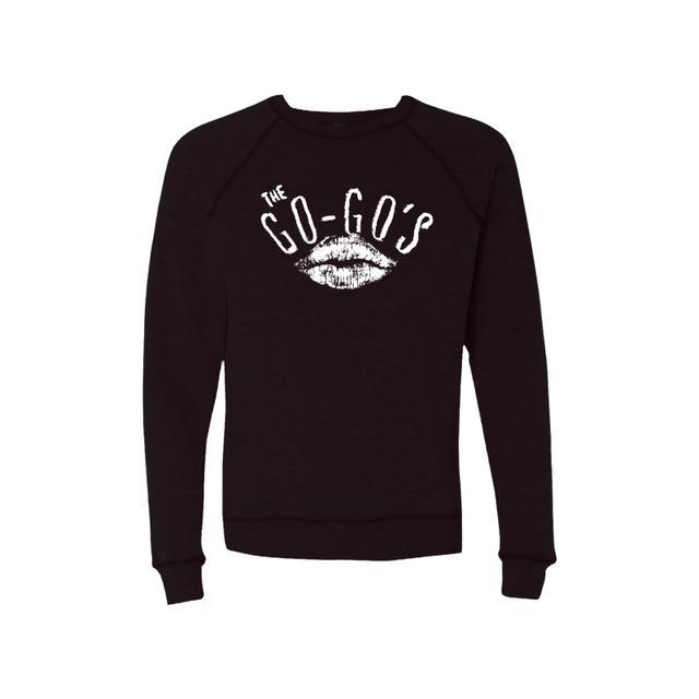 The Go-Go's Lipstick Black Raglan Sweater
