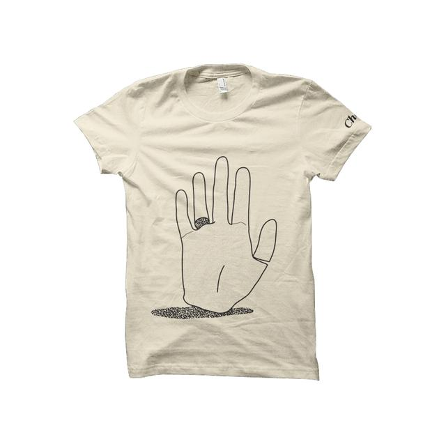 Chet Faker Hand Tee Womens (Natural)