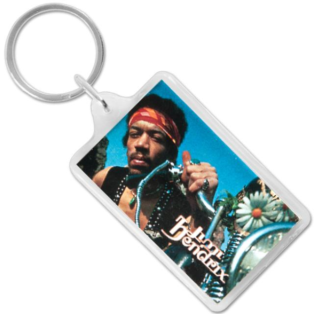 Jimi Hendrix Keychain South Saturn Delta