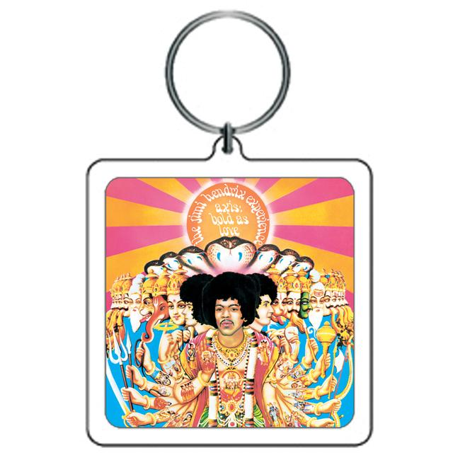 Jimi Hendrix Keychain Axis Bold As Love