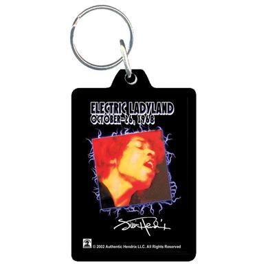 Jimi Hendrix Acrylic Keychain Electric Ladyland