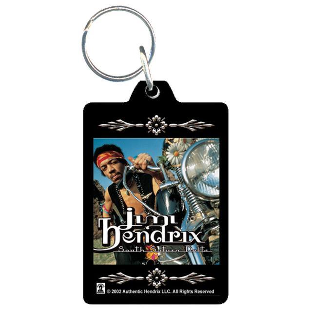 Jimi Hendrix Acrylic Keychain South Saturn Delta