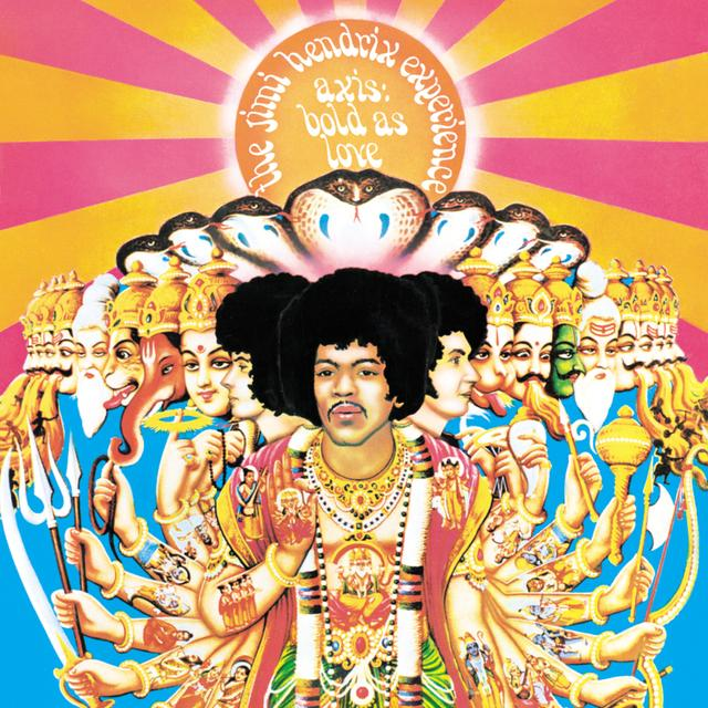 Jimi Hendrix Axis Bold As Love Magnet