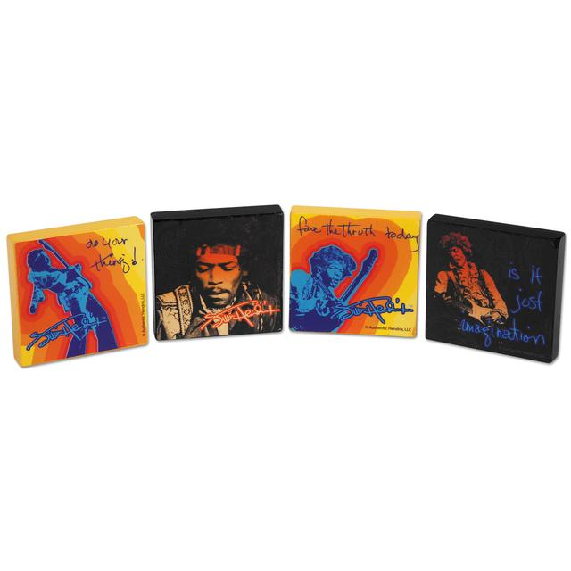 Jimi Hendrix Tile Magnets