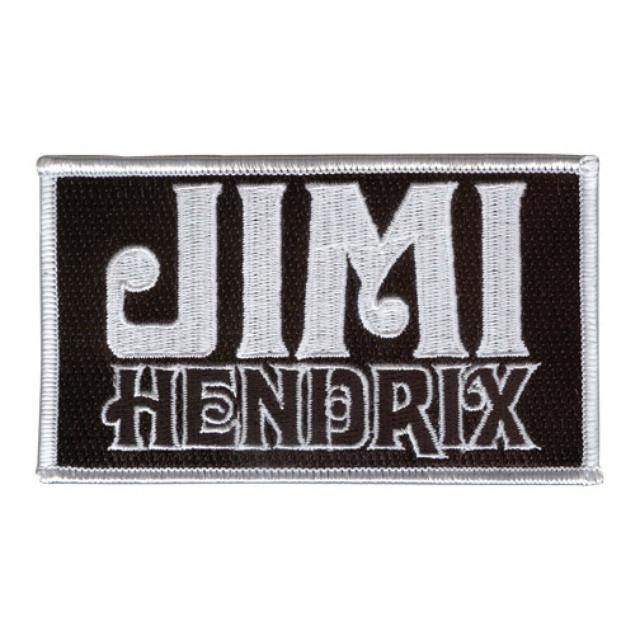 Jimi Hendrix Classic Logo Patch
