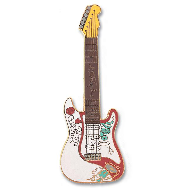 Jimi Hendrix Monterey Stratocaster Pin