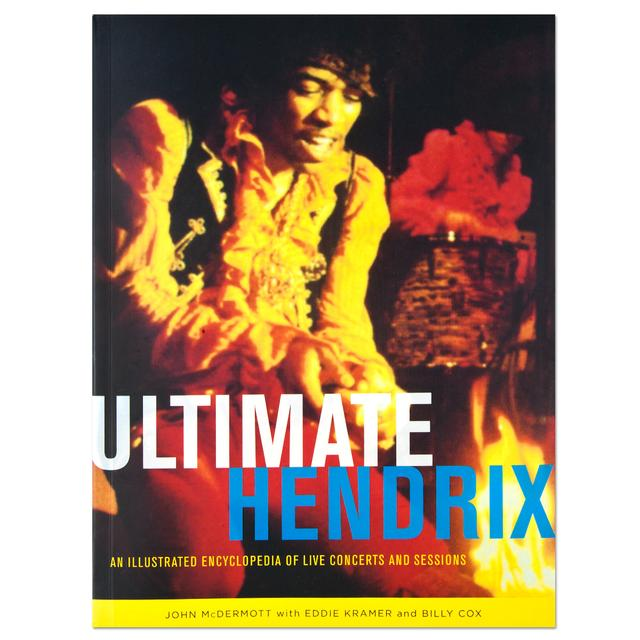 Jimi Hendrix Ultimate Hendrix Illustrated Encyclopedia Book (Signed)