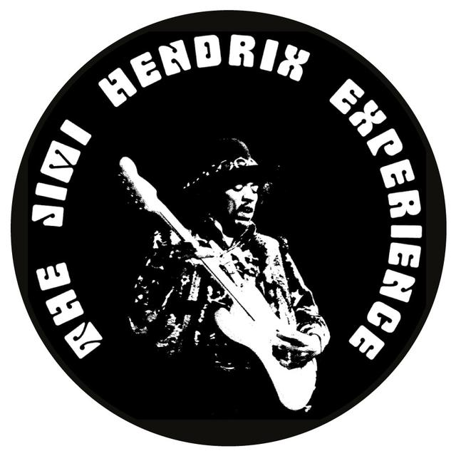 Jimi Hendrix Experience Shrine Auditorium Button