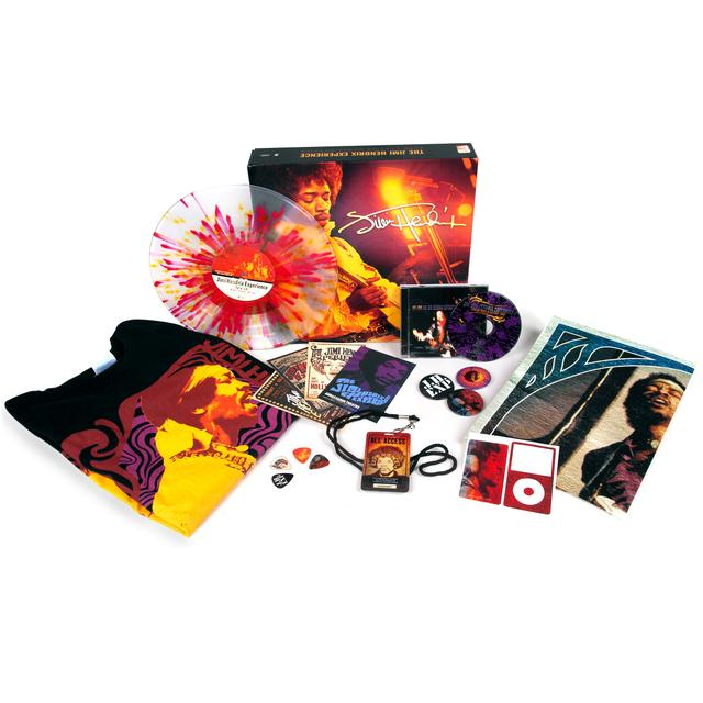 Jimi Hendrix Live 1968 Paris/Ottawa Fan Pack with T-shirt+CD+Vinyl