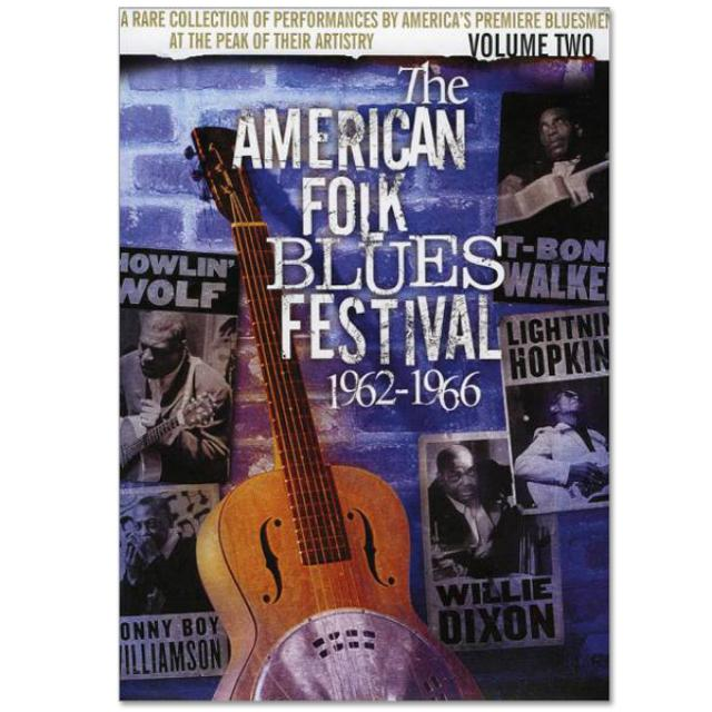 Jimi Hendrix American Folk Blues Festival 1962-1966 Vol. 2 DVD