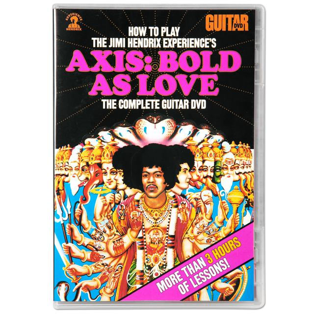 Jimi Hendrix How To Play Axis: Bold As Love Complete Guitar DVD