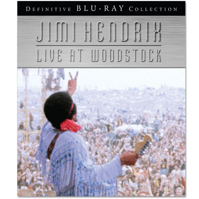 Jimi Hendrix: Live At Woodstock - Blu-Ray (2010)