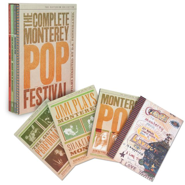 Jimi Hendrix The Complete Monterey Pop Festival (The Criterion Collection) DVD