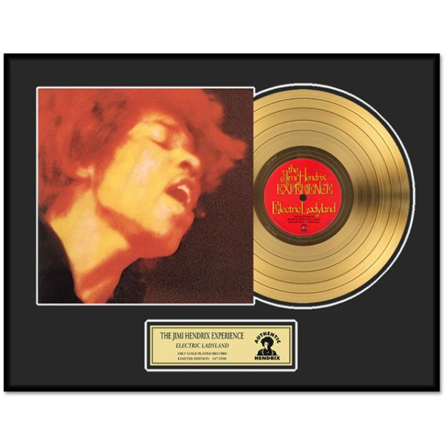 Jimi Hendrix – Electric Ladyland Framed Gold Record