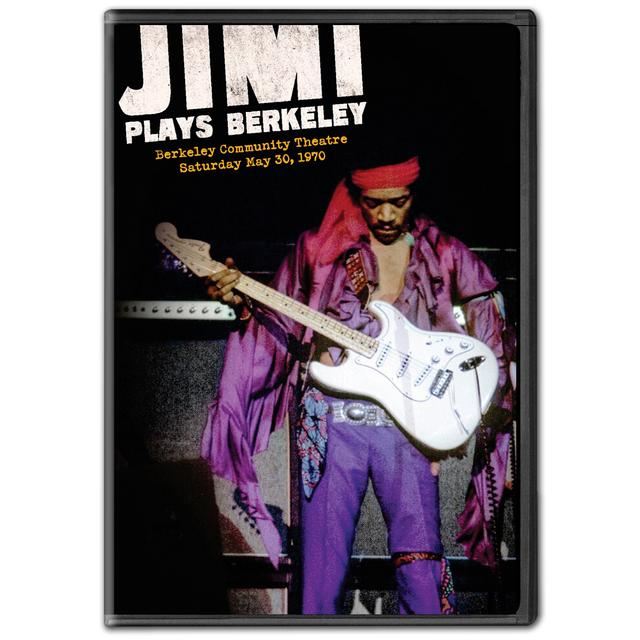 Jimi Hendrix: Jimi Plays Berkeley DVD