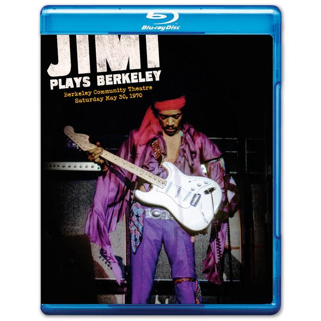 Jimi Hendrix: Jimi Plays Berkeley Blu-Ray