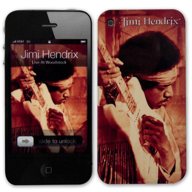 Jimi Hendrix Hear My Music iPhone 5 Skin