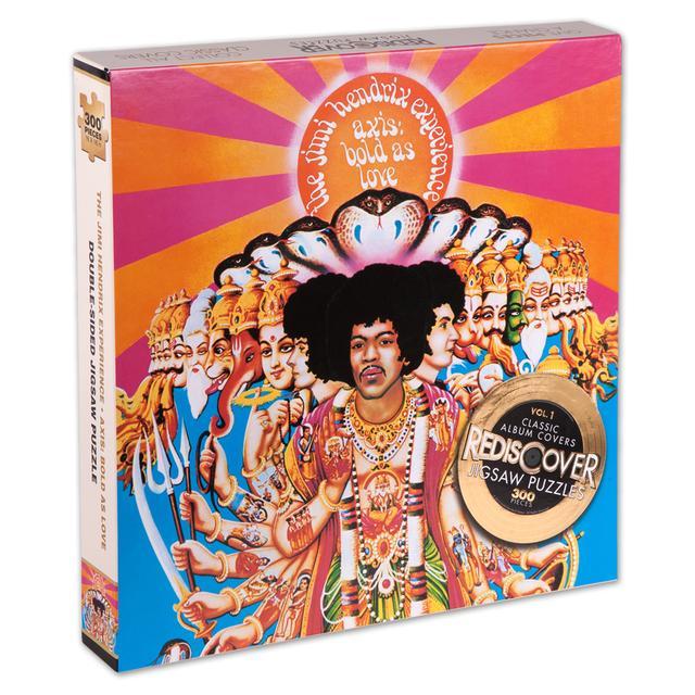 Jimi Hendrix Axis: Bold As Love Jigsaw Puzzle