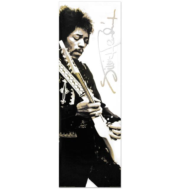 Jimi Hendrix Hollywood Bowl Rehearsals Door Poster