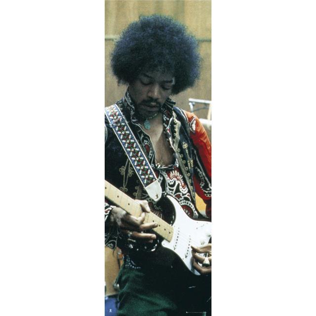 Jimi Hendrix TTG Studios Door Poster