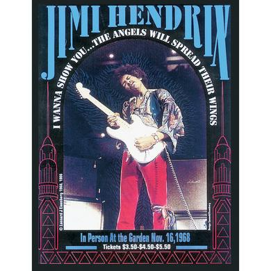 Jimi Hendrix Boston Gardens 11/16/1968 Boston, MA Poster