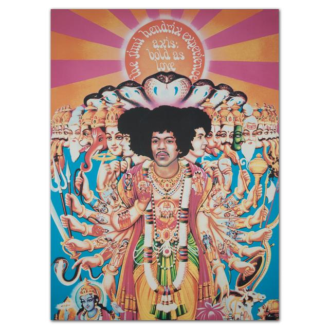 "Jimi Hendrix ""Axis: Bold as Love"" Canvas Print"