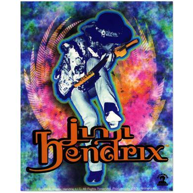 Jimi Hendrix Live In Toronto Sticker