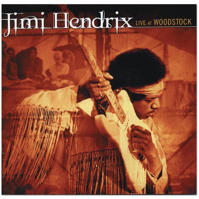 Jimi Hendrix: Live at Woodstock 2-Disc CD (2010)