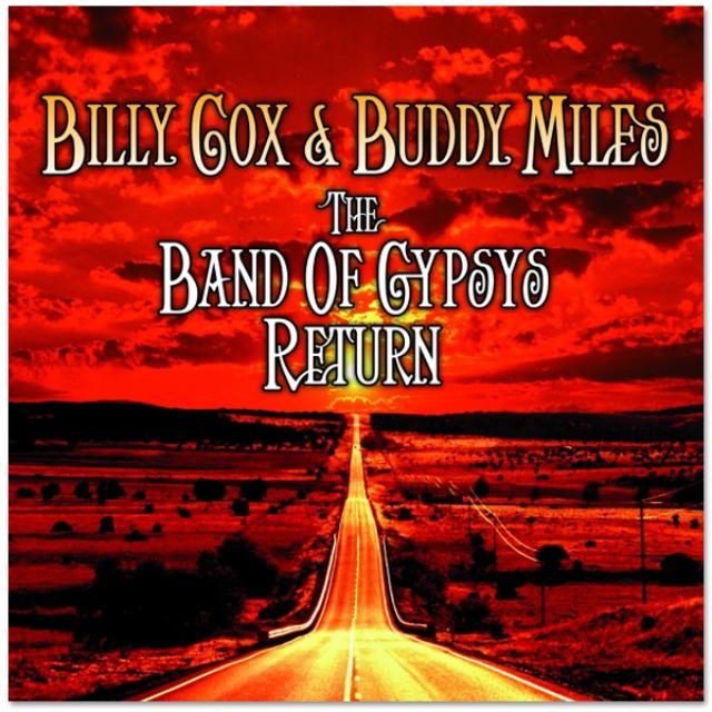 Jimi Hendrix Billy Cox & Buddy Miles: The Band Of Gypsys Return CD/DVD Set