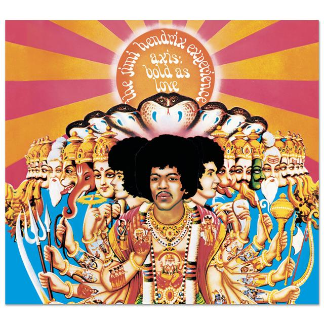 Jimi Hendrix Experience: Axis: Bold As Love CD/DVD Set (2010)