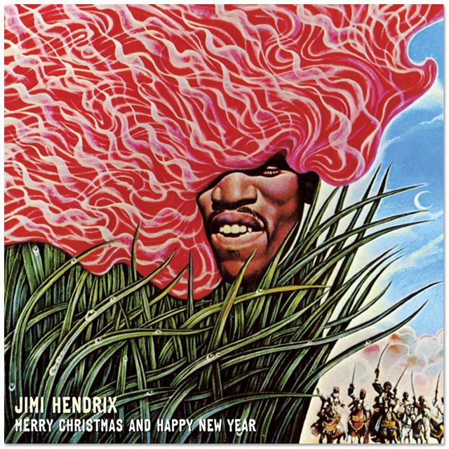 Jimi Hendrix: Merry Christmas And Happy New Year CD Single (2010)