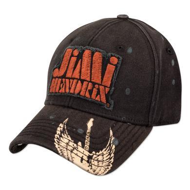 Jimi Hendrix Bill Emblem Flexfit Cap