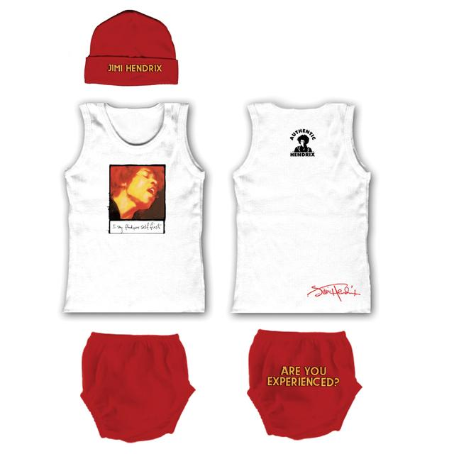 Jimi Hendrix Are You Experienced Gift Set W/ Tank Top