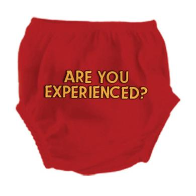 Jimi Hendrix Are You Experienced Red Diaper Cover