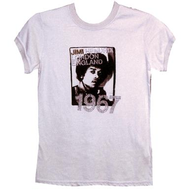 Jimi Hendrix Hendrix London Sparks 1967 Ladies T-Shirt