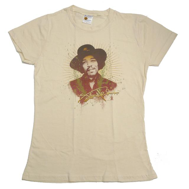 Jimi Hendrix Hendrix Never Fade Away Babydoll T-Shirt