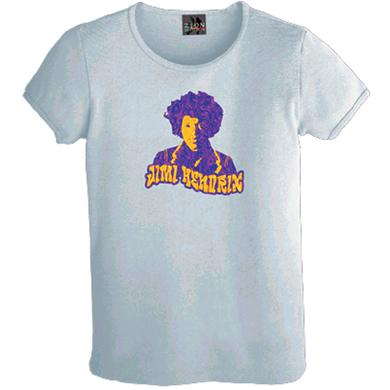 Jimi Hendrix Hendrix Golden Waves Ladies T-Shirt